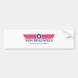 New Braunfels Pride Bumper Sticker