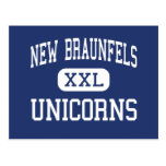 New Braunfels - Unicorns - High - New Braunfels Postcards