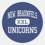 New Braunfels - Unicorns - High - New Braunfels Sticker