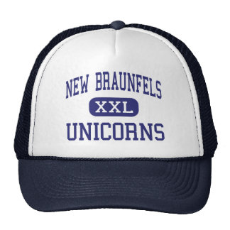 New Braunfels - Unicorns - High - New Braunfels Trucker Hat