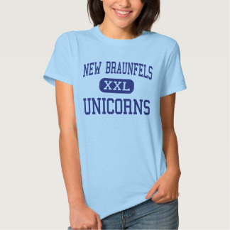 New Braunfels Unicorns Middle New Braunfels Shirt