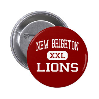 New Brighton - Lions - Area - New Brighton Pinback Buttons
