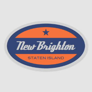 New Brighton Oval Sticker
