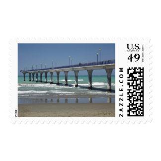 New Brighton Pier, Christchurch Postage Stamp