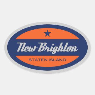 New Brighton Oval Stickers