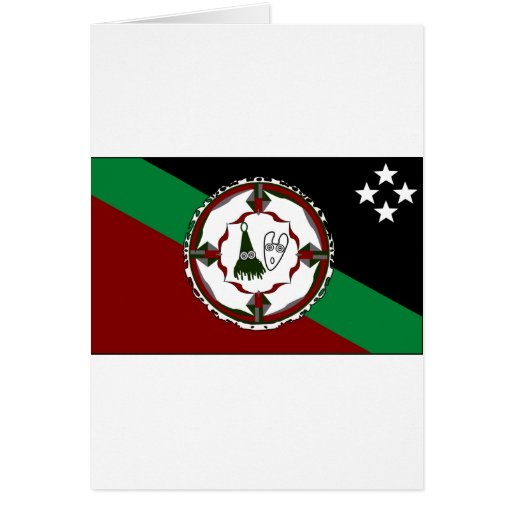 New Britain del este, Papúa Nueva Guinea Tarjeta