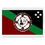 New Britain del este, Papúa Nueva Guinea Tarjetón