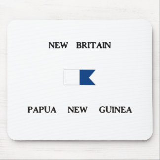 New Britain Papau New Guinea Alpha Dive Flag Mouse Pad