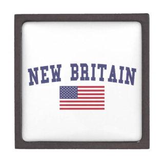New Britain US Flag Jewelry Box
