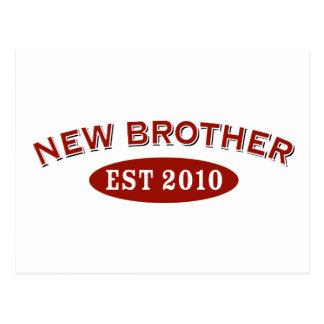 New Brother Est 2010 Postcard