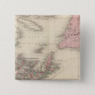 New Brunswick and Nova Scotia Button