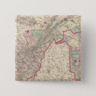 New Brunswick and Quebec Button