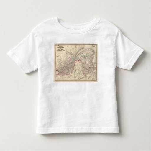 New Brunswick and Quebec Toddler T-shirt