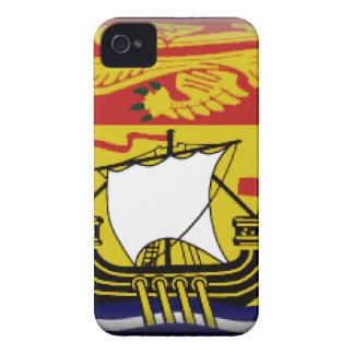 New Brunswick (Canada) Flag iPhone 4 Cases
