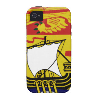 New Brunswick (Canada) Flag Case For The iPhone 4