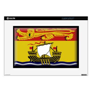 "New Brunswick (Canada) Flag 15"" Laptop Decal"