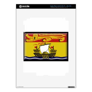 New Brunswick (Canada) Flag Skin For iPad 3
