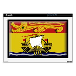 "New Brunswick (Canada) Flag 17"" Laptop Decals"