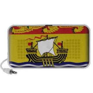 New Brunswick (Canada) Flag Travel Speaker