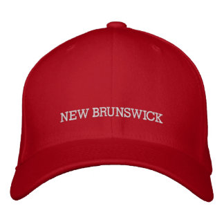 NEW BRUNSWICK, CANADA HAT EMBROIDERED BASEBALL CAP