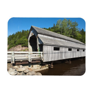 New Brunswick, Canada. Irish River covered Magnet