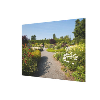 New Brunswick, Canada. Kingsbrae Garden in St. Gallery Wrapped Canvas