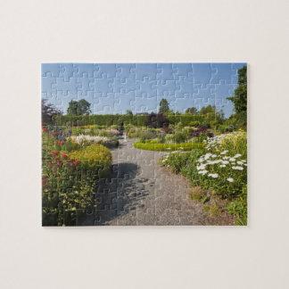 New Brunswick, Canada. Kingsbrae Garden in St. Jigsaw Puzzle