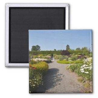 New Brunswick, Canada. Kingsbrae Garden in St. Magnet