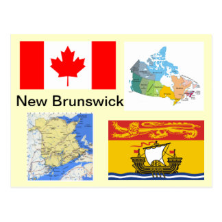 New Brunswick Canada Postcard