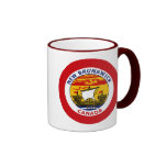 NEW BRUNSWICK, CANADA RINGER COFFEE MUG