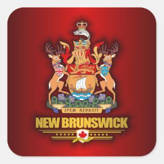 New Brunswick COA Square Sticker