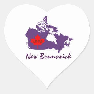 New Brunswick  Customize Canada sticker