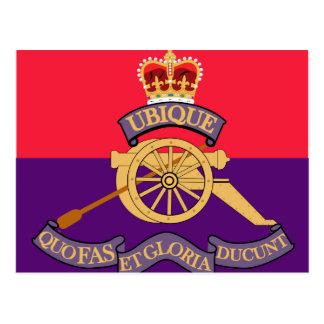 New Brunswick Field Artillery Crest Postcard