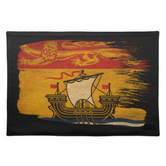 New Brunswick Flag Cloth Placemat