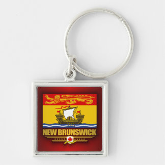 New Brunswick Flag Keychain