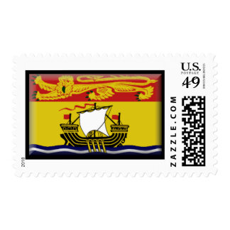 New Brunswick Flag Postage