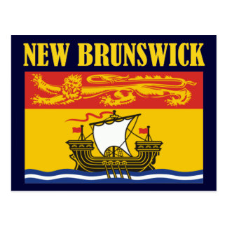 New Brunswick-Flag Post Cards
