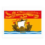 New Brunswick Flag Postcard