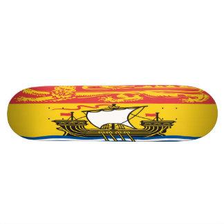 New Brunswick Flag Skateboard