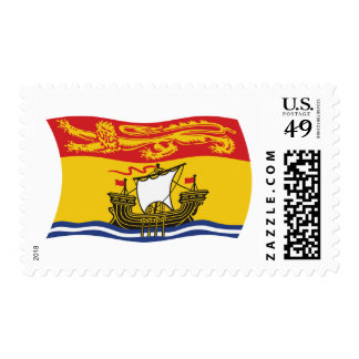 New Brunswick Flag Stamps