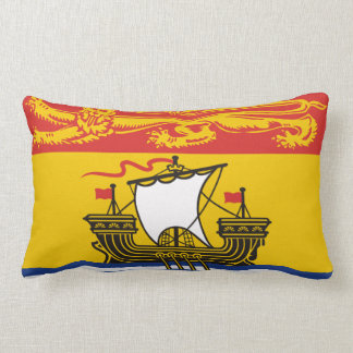 New Brunswick flag Throw Pillow