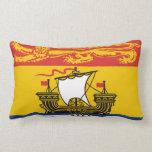 New Brunswick flag Throw Pillow Throw Pillows
