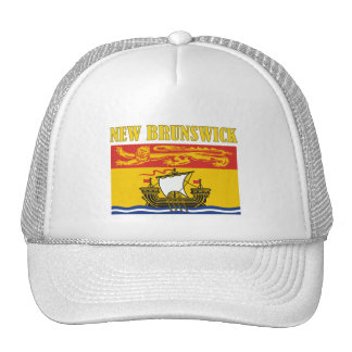 New Brunswick-Flag Trucker Hat