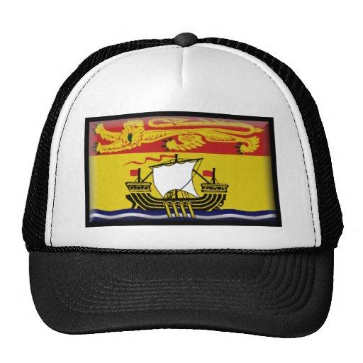 New Brunswick Flag Trucker Hats