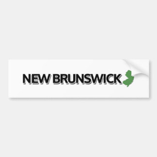 New Brunswick, New Jersey Bumper Sticker
