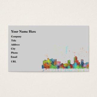 NEW BRUNSWICK, NEW JERSEY SKYLINE BUSINESS CARD