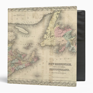 New Brunswick Nova Scotia Newfoundland 2 3 Ring Binder