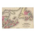 New Brunswick, Nova Scotia, Newfoundland 3 Placemat