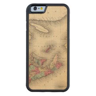 New Brunswick, Nova Scotia, Newfoundland 3 Carved® Maple iPhone 6 Bumper Case