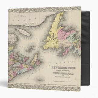 New Brunswick Nova Scotia Newfoundland 3 Ring Binders
